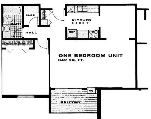 1 Bedroom Apartment for Rent - New Brighton, MN